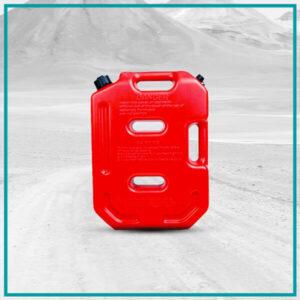 Plastični terenski kanister za gorivo sa levkom 10L