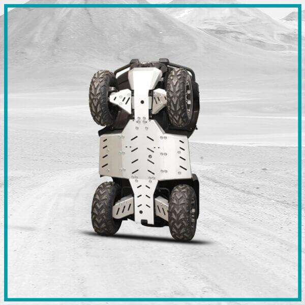 Zaštita donjeg postroja – Skid Plates / Aluminijum