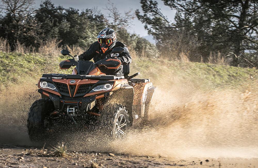 bezbednost tokom vožnje ATV vozila CFMOTO 1