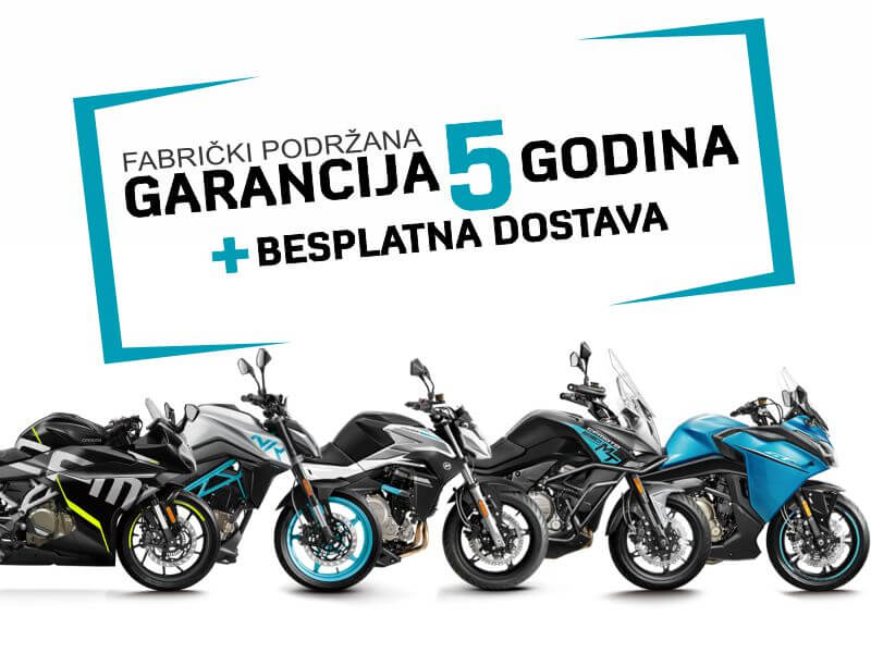 garancija za CFMOTO motocikle CFMOTO 1