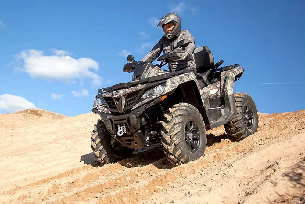 istorijat ATV vozila CFMOTO 2
