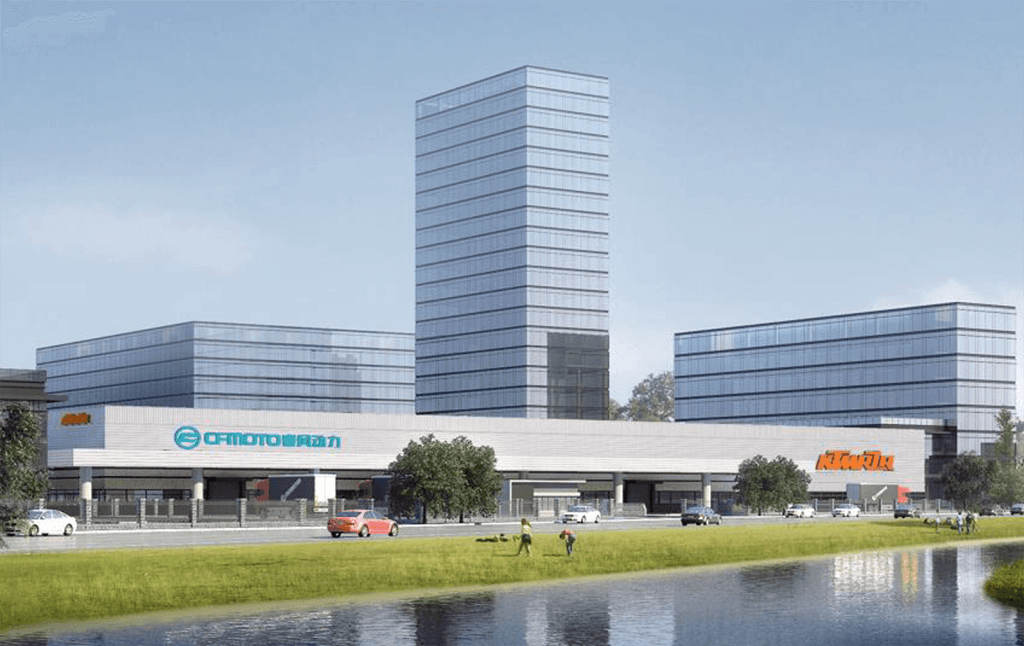 nova CFMOTO KTM fabrika