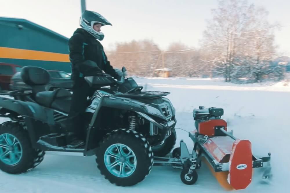 CFMOTO čistači za sneg
