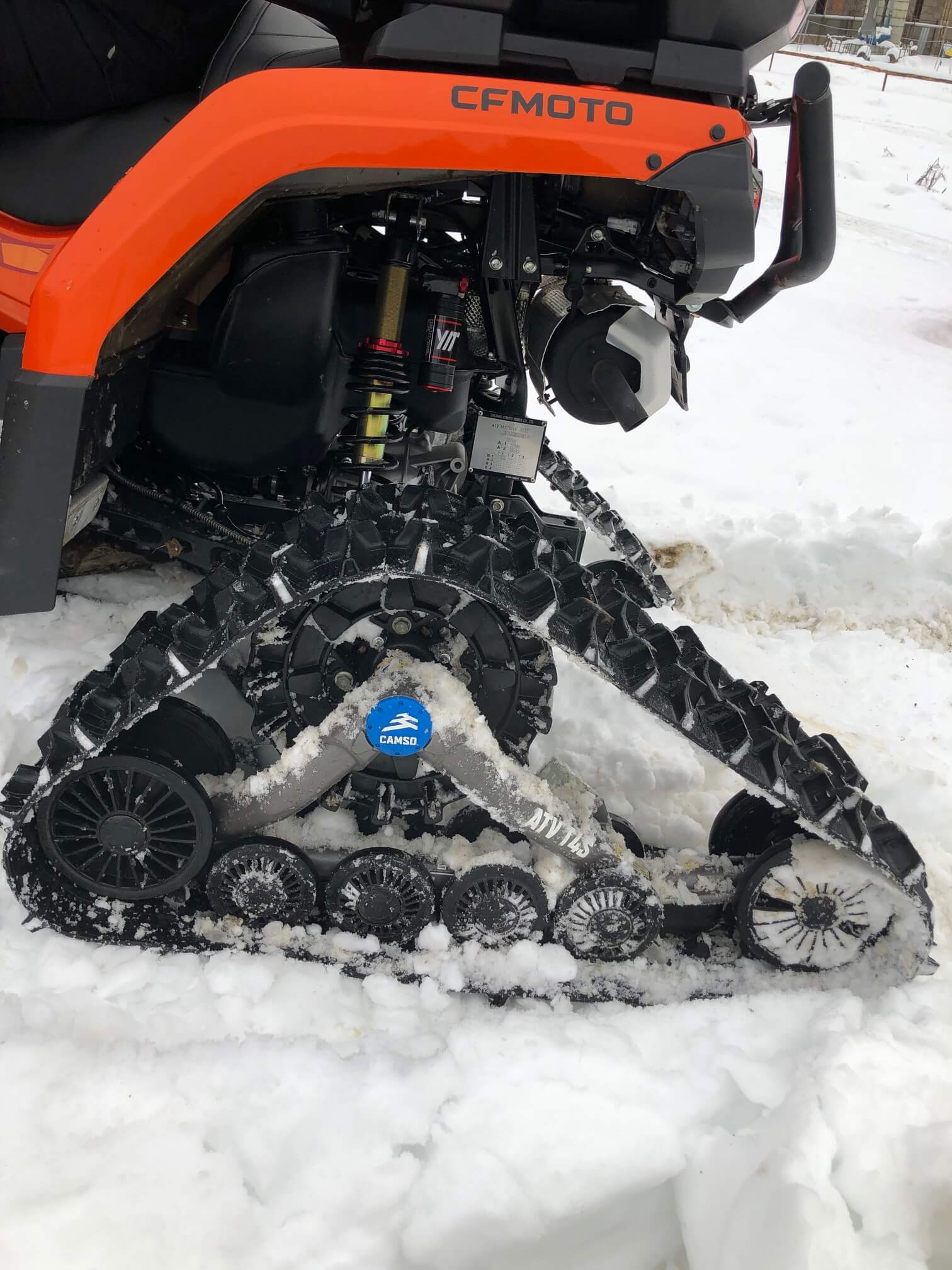 gusenice za ATV vozila CFMOTO 2
