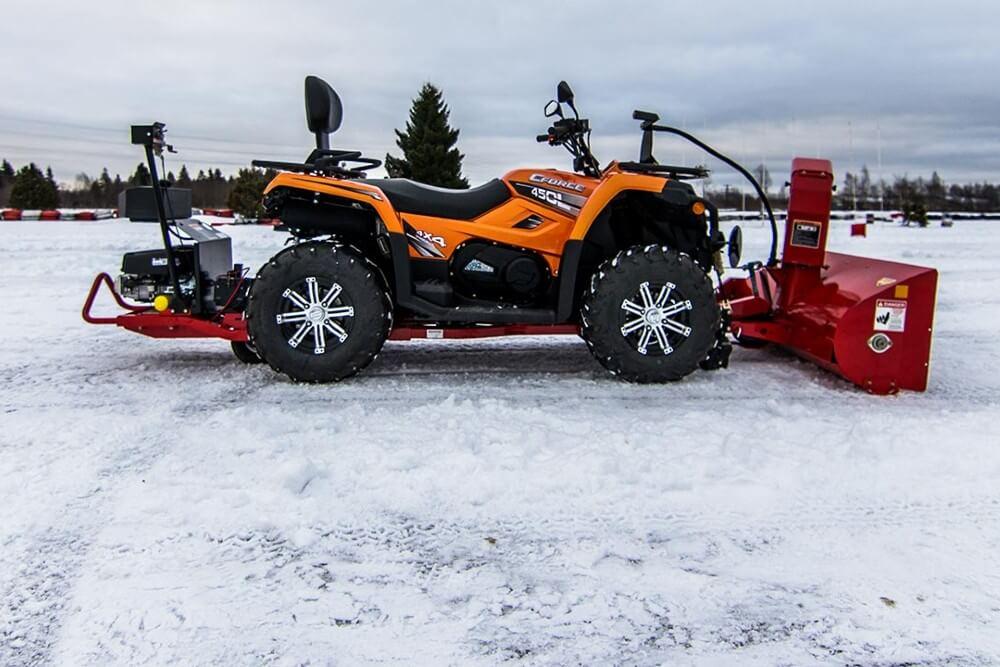 ATV čsitači snega CFMOTO 1